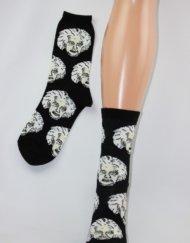 socksmith einstein zwart/wit