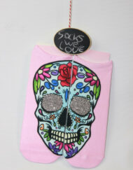 Doodshoofd skull glitter